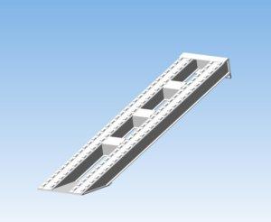 Алюминиевые аппарели грузоподъемностью 30 тонн
