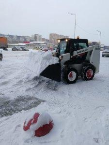 Ковши снеговые для минипогрузчиков